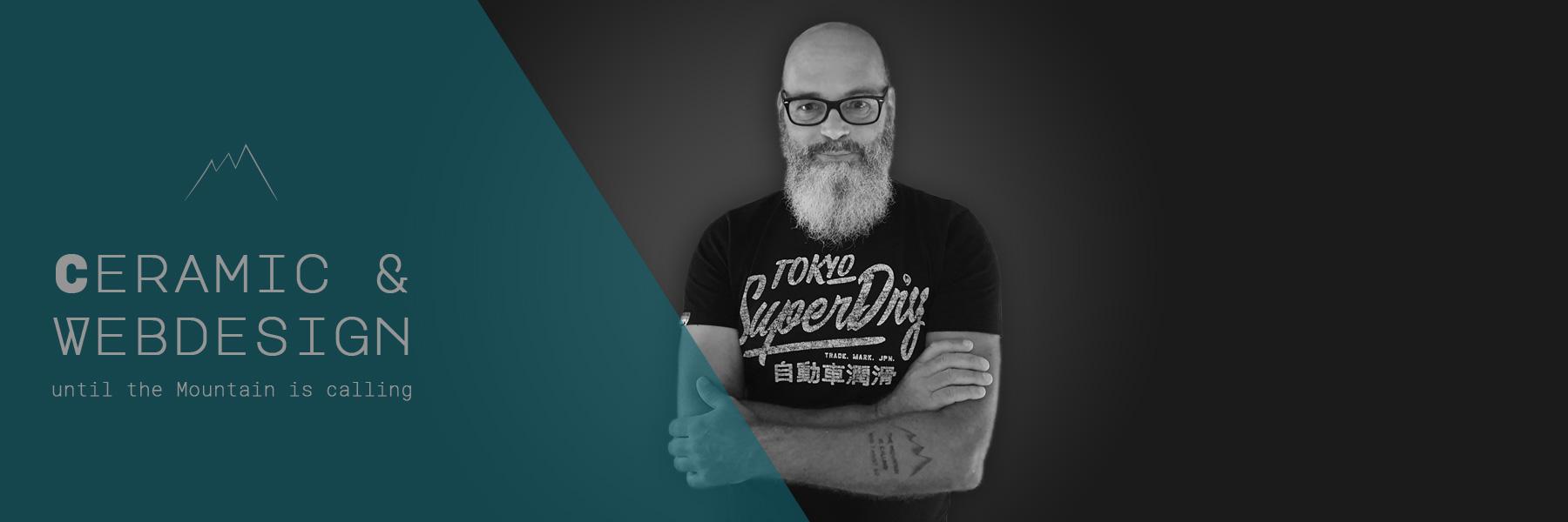 Stefan Sauder, Inhaber der BlackCreek Studio Töpferei
